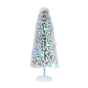 Lit Snow Laden Sisal Large Tree 6002418
