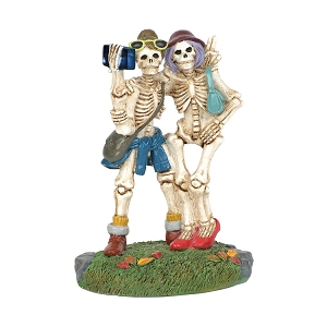 Halloween Skelfie Accessory Figurine 6003220