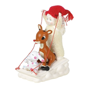 Guest Collection Sledding with Rudolph 6003476