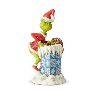 Dr. Seuss Grinch Climbing in Chimney 6004066