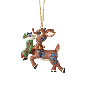 2019 Rudolph Stocking Ornament 6004148