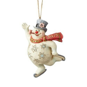 Frosty Ice Skating Ornament 6004158