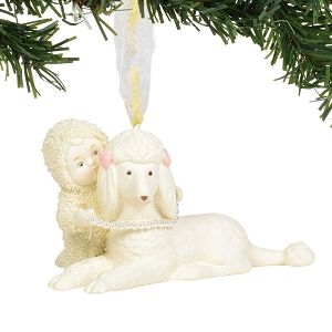 Poodle In Pearls Ornament 6004211