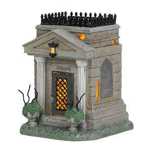 The Addams Family Crypt Lighted Building 6004270