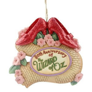 Wizard of Oz 80th Ruby Slippers Ornament 6005083