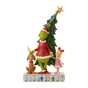 Grinch Max and Cindy by Tree 6006567