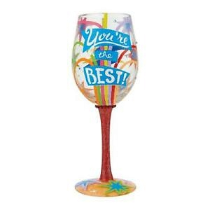 You're the Best Wine Glass 6008461