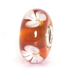 Beige Flower Bead 61149
