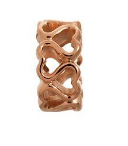 Endless Jewelry Multiple Hearts Rose Gold 61152