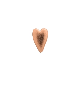 Endless Jewelry Brushed Heart Rose Gold 61300