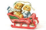 Cherished Teddies Our First Christmas Together Ornament 617229