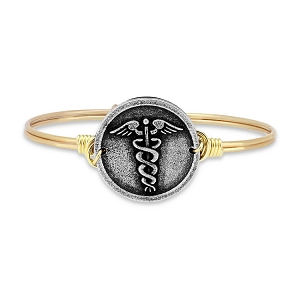 Nurse Bangle Brass 7.5