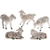 Fontanini 5 Piece White Sheep Set 5 in Scale 72539