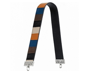 Purse Strap Colorblock Atlantic Multi Leather H8040T