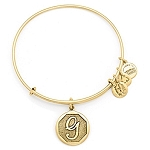 Initial G Bangle Rafaelian Gold