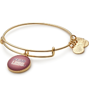 Fearless Charm Bangle Yellow Gold