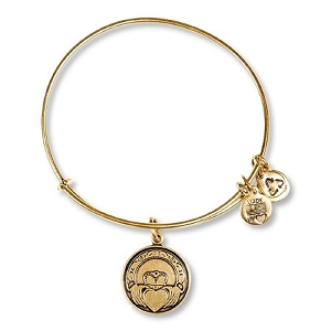 Claddagh Bangle Rafaelian Gold