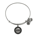 Alpha Omicron Pi Bangle Rafaelian Silver