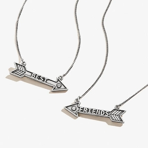 Best Friends Arrow Set of 2 Necklace Rafaelian Silver