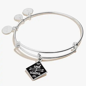 Soul Sisters Charm Bangle Color Infusion Shiny Silver