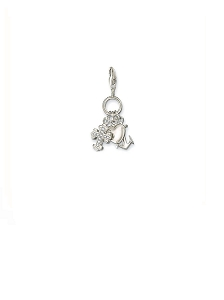 Silver Faith, Love and Hope Ring Charm 0409-051-14