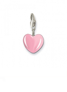 Small Pink Heart Charm 0565-007-9