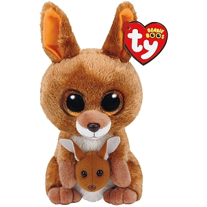 Beanie Boos KIPPER Brown Kangaroo