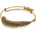 Plume Feather Bangle Rafaelian Gold