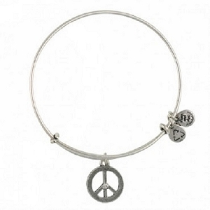 World Peace Bangle Rafaelian Silver