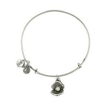 Oyster and Pearl Bangle Rafaelian Silver