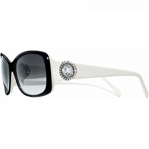 Twinkle Black and White Sunglasses A11671