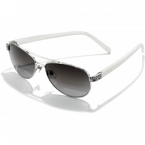 Sugar Shack Sunglasses White A12092