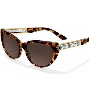 Intrigue Tortoise Sunglasses A12344
