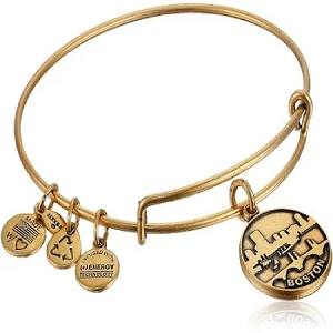 Boston Charm Bangle Rafaelian Gold