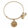 Initial B Bangle Rafaelian Gold