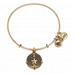 Anchor Charm Bangle Rafaelian Gold