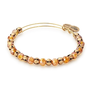 Snowbell Golden Days Beaded Bangle Rafaelian Gold