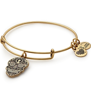 Calavera Charm Bangle Rafaelian Gold