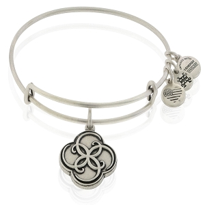 Breath of Life Charm Bangle Rafaelian Silver