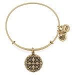Compass Charm Bangle Rafaelian Gold