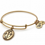 Key To Life Charm Bangle Rafaelian Gold