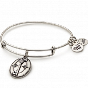 Key To Life Charm Bangle Rafaelian Silver