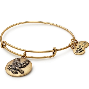 Sacred Dove Bangle Rafaelian Gold