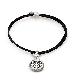 Kindred Cord Menorah Rafaelian Silver Bracelet