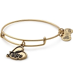 Love IV Charm Bangle Gold