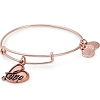 Love IV Charm Bangle Rose Gold