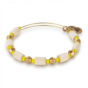 Palm Mango Expandable Bangle Gold