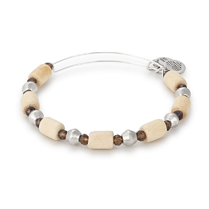 Palm Wildberry Expandable Bangle Silver