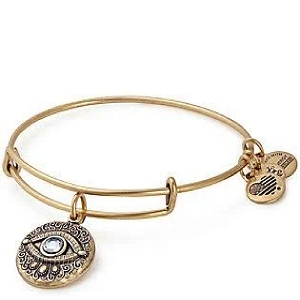 Evil Eye Charm Bangle Rafaelian Gold