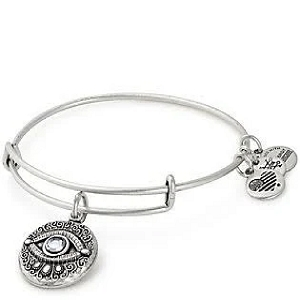 Evil Eye Charm Bangle Rafaelian Silver